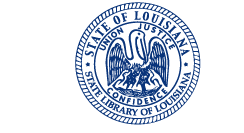 Logo: State Library of Louisiana